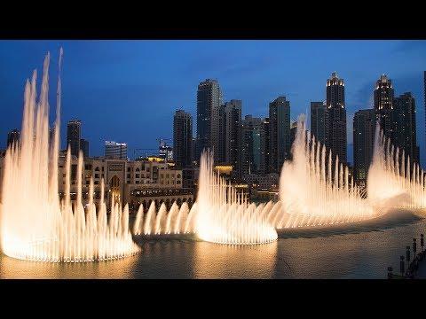 "Burj Khalifa Fountain Show, Mehad Hamad LIVE ""Sama Dubai""– Dubai, UAE"