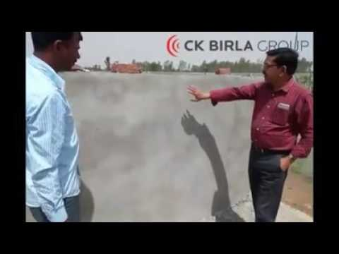 How to apply a skim coat on wall (c k birla group)