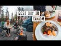 Camper Van Road Trip Pt. 2! Trying Elk Meatloaf + Exploring Jasper National Park 😍(Alberta Canada)
