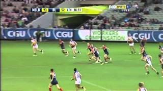 Tom Scully's First Goal In AFL Football - Round 5, 2010