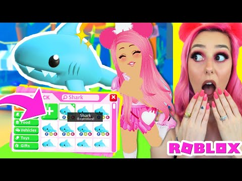 Meganplays Roblox Adopt Me Outfit I Found A New Ocean Pet Underwater In Adopt Me Legendary Secret Shark Pet Roblox Adopt Me Roleplay Youtube