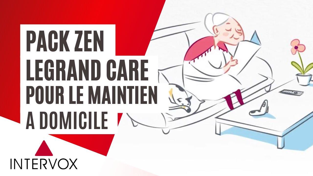 PackZen Intervox Legrand, la solution bienveillante pour le maintien à domicile des seniors