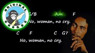 Bob Marley - No Woman No Cry - Chords & Lyrics