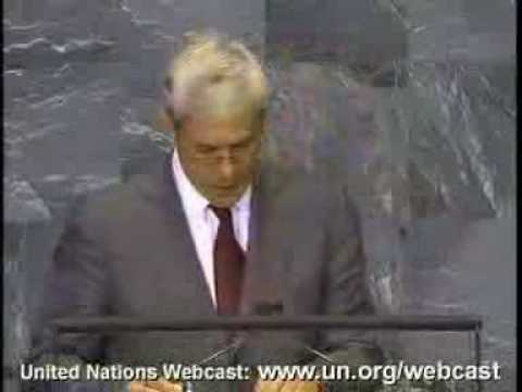 Serbia President. 63th General Assembly. 2-2. Sept. 2008