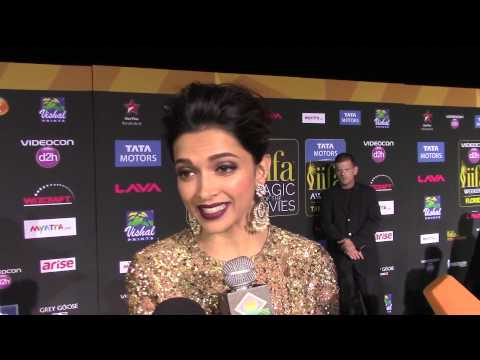 #IIFA 2014 Deepika Padukone -filming back-to-back