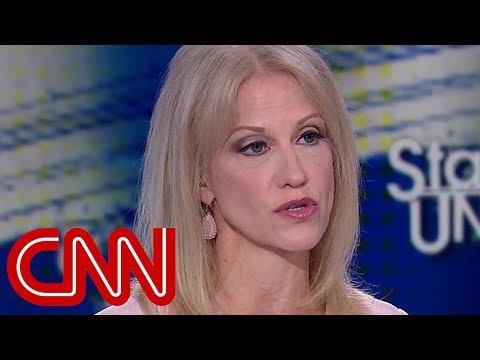 Kellyanne Conway spars with Tapper: Trump denied the affair