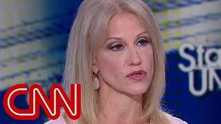 Kellyanne Conway spars with Tapper: Trump denied the affair
