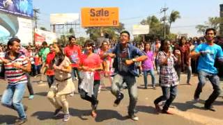 ICC World Twenty 20 Bangladesh 2014, Flash Mob - Chittagong University