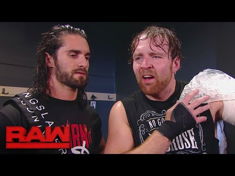 Dean Ambrose accuses Seth Rollins of being \