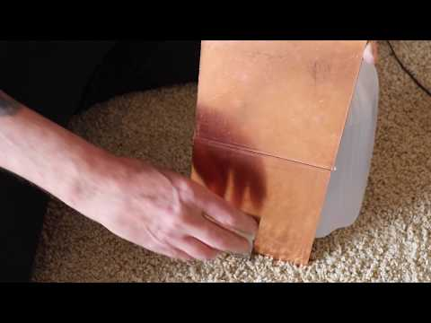 Watch the strange effect copper has on a magnet.