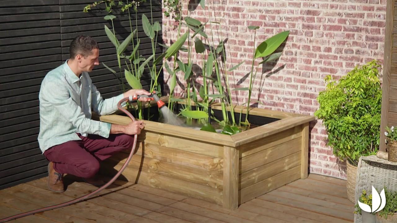 Bassin Préformé Hors Sol comment installer un bassin hors sol ? - jardinerie truffaut tv