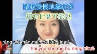 Qing qing de gao su ni - 轻轻的告诉你 - 杨钰莹 - karaoke