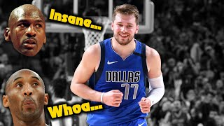 What Happened When MJ & Kobe First Met Luka Doncic?