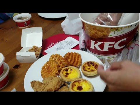 Penampakan Seember KFC Hong Kong