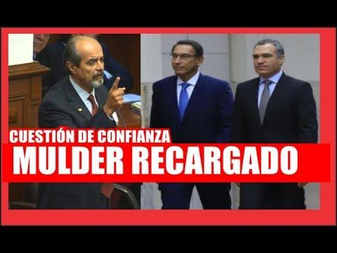 #CuestiónDeConfianza: Mauricio Mulder arremete contra Vizcarra y Salvador del Solar