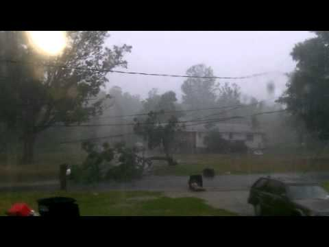 Potsdam NY July 17, 2o12 Epicenter Gust Front Storm National Grid Electric Company Phonecall