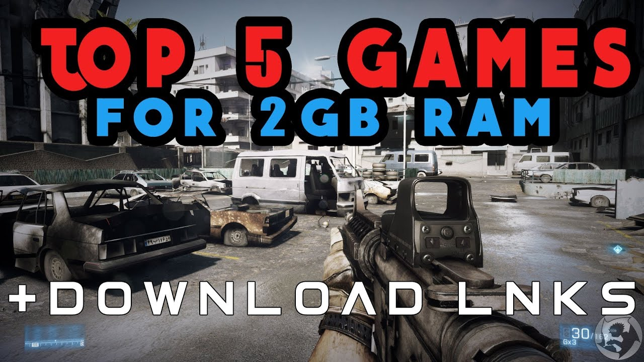 best pc games for 2gb ram free download