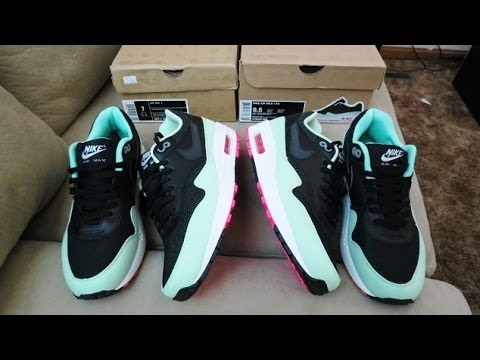 sale retailer fb43e 8eac7 NIKE AIR MAX 1 FB YEEZY(AUTHENTIC VS REPLICA) - YouTube