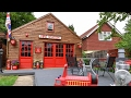 Firefighter Builds Fire Station Shed