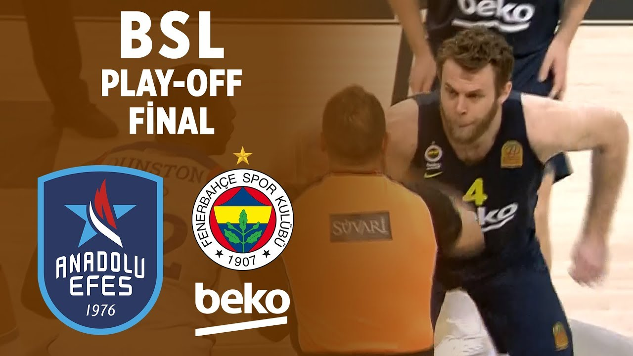 BSL Play-Off Final 7. Maç Özeti | Anadolu Efes 89-74 Fenerbahçe Beko