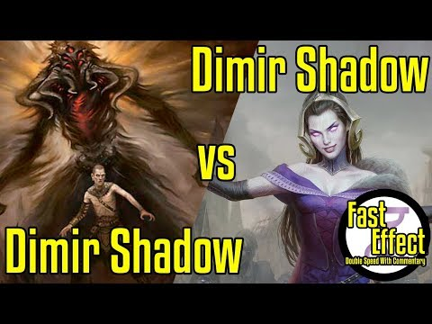 Dimir Shadow Mirror Match | Legacy Magic: The Gathering W/Commentary | Brainstorm MTG | Fast Effect