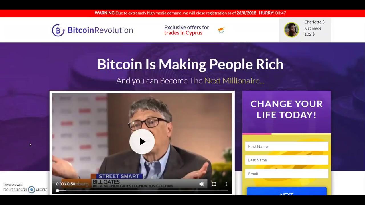 Hasil gambar untuk Bitcoin Revolution reviews
