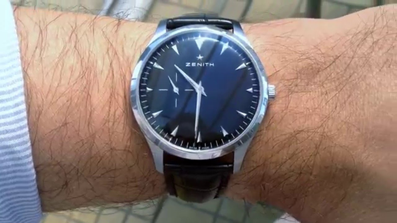 how to pronounce zenith watch