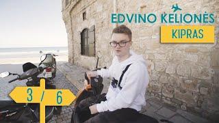 Edvino Kelionės – Kipras    3/6    Laisvės TV X