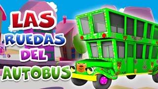 Las ruedas del autobús en español 3D | Enganchados Canciones Infantiles 20 minutos