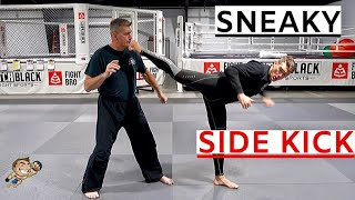 Sneaky Side Kick Attack - Valentina Shevchenko Style | Stephen Wonderboy Thompson
