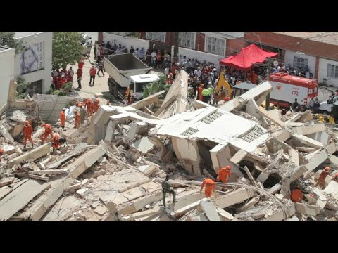 Images of collapsed building in northeastern Brazil   AFP