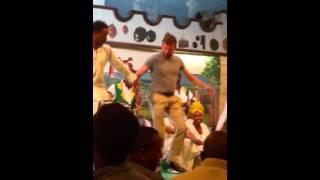 White dude dancing Ethiopia Cultural music