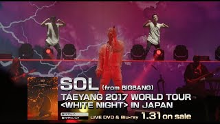 SOL (from BIGBANG) - RINGA LINGA (TAEYANG 2017 WORLD TOUR [WHITE NIGHT] IN JAPAN)
