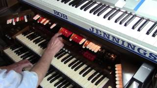 Baldwin PR200 Organ Bob Jennings plays Foggy Day