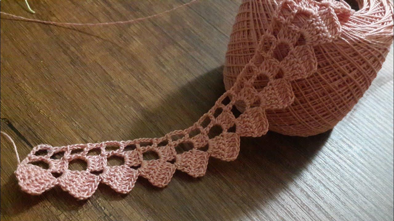 Tığ işi Örgü Kenar Danteli Modelleri & Crochet