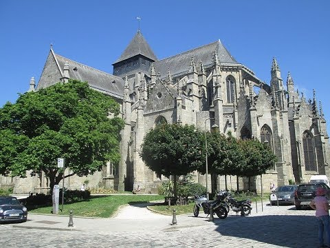 Places to see in ( Dinan - France ) Eglise Saint Malo de Dinan