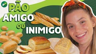 Pão Saudável Sem Glúten E Sem Lactose