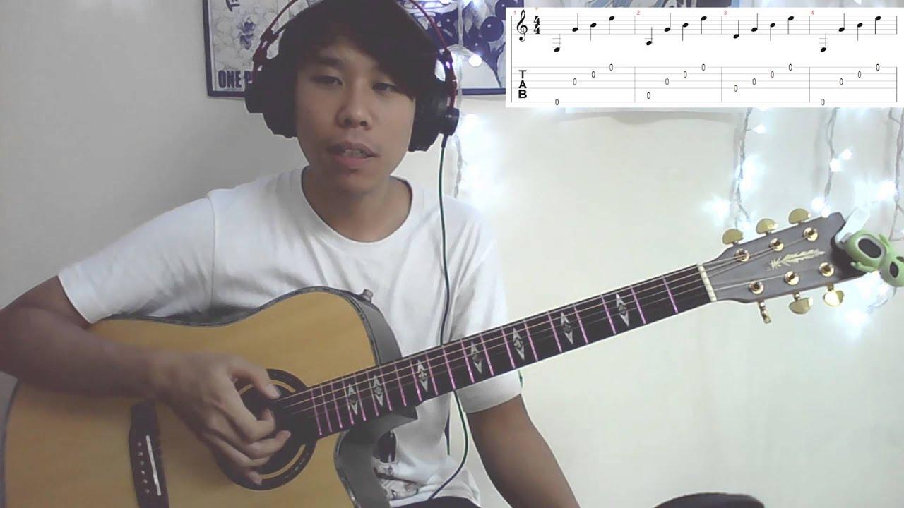 結他入門彈唱教學 六線譜 - YouTube