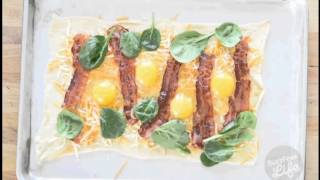 Easy Crescent Roll Breakfast Pizza
