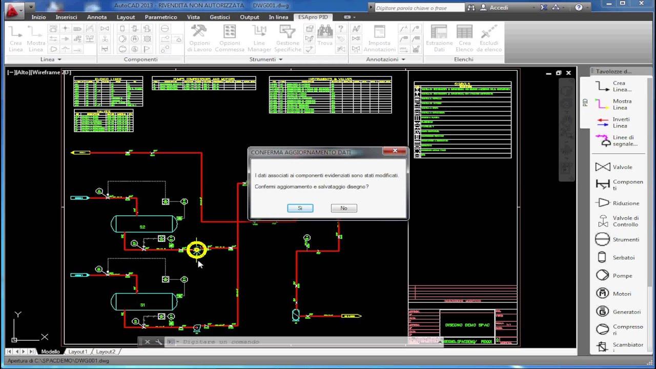 Schemi Elettrici Free Software : Collegamento tra esapro p id e schemi elettrici di spac