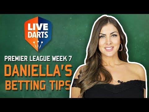 Premier League Darts Glasgow - Daniella's Betting Tips