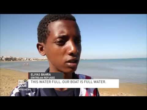 After dangerous Mediterranean voyage, migrants in Sicily face uncertainty, Mafia influence