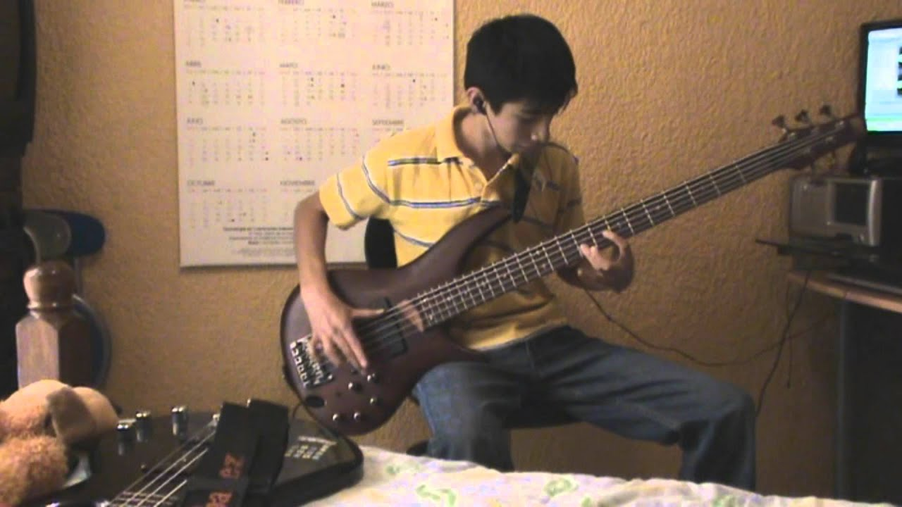 red hot chili peppers purple stain bass cover hd youtube