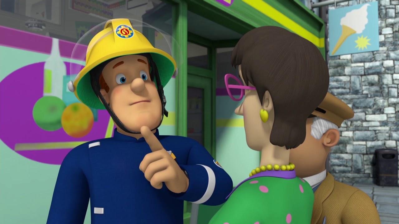 sam le pompier qu 39 est ce qui se passe sam compilation dessin anim youtube
