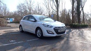 2014 Hyundai i30 1.6 CRDi 110 Blue Drive Active (5-door) Start-Up and Full Vehicle Tour