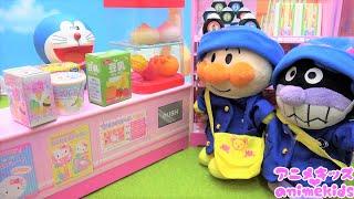 アンパンマン おもちゃ アニメ ドキンちゃんママのおかいものにいくよ! ようちえん コンビニ おみせやさん アニメキッズ