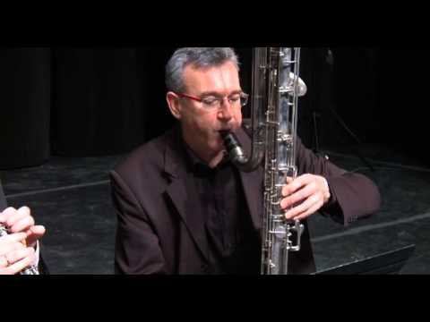 Piccolo A-flat Clarinet And Contrabass Clarinet Duo
