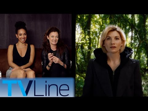 Doctor Who Cast Interview & Reaction to 13th Doctor  | Comic-Con 2017 | TVLine