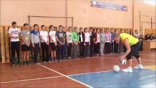 Урок по волейболу Габдрахимов Г.М.