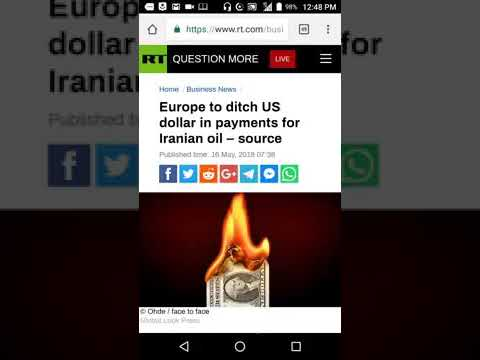 Europe to Ditch US Dollar to Trade with Iran